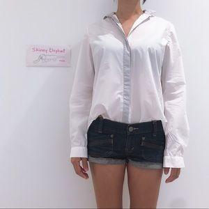 COS button down white shirts